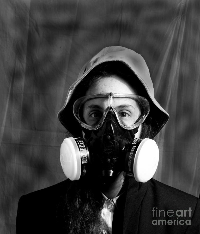 Respirator by Garry McMichael