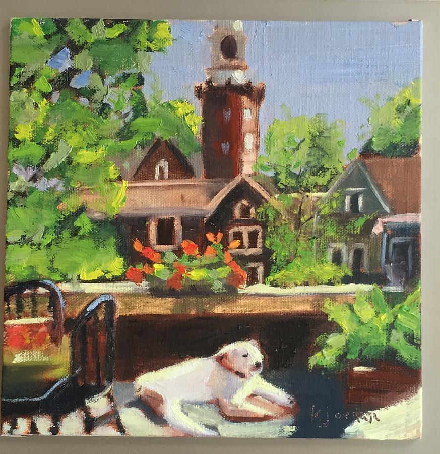 Resting In Time Painting by Karen Jordan