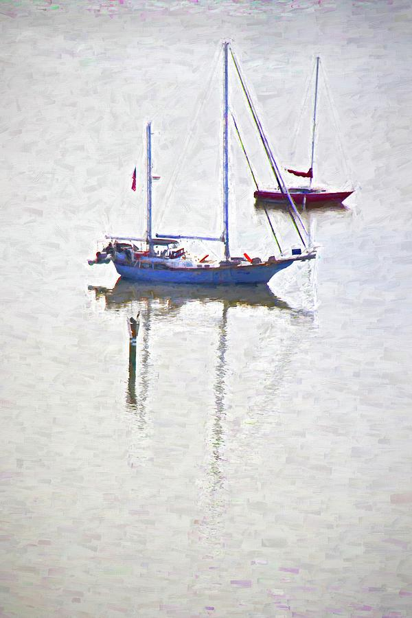 Resting Sailboats by Alice Gipson