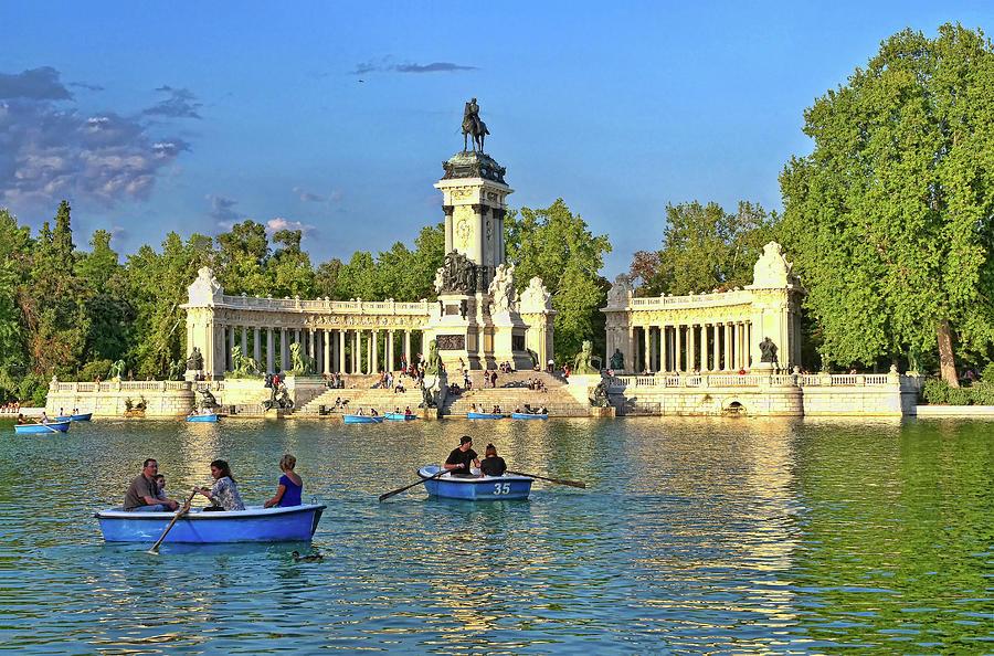 Retiro Park Lake - Madrid Photograph