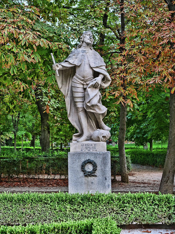 Retiro Park Statuary # 3  - Madrid Photograph