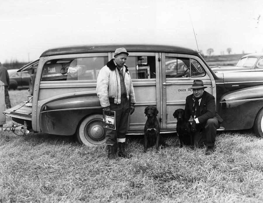 Retrievers Photograph by Bert Morgan