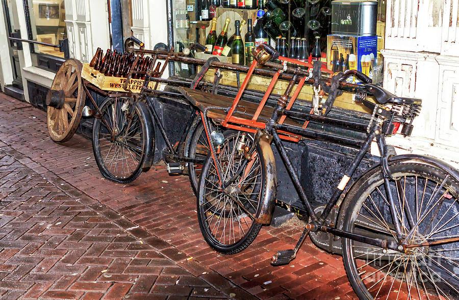 Retro Bikes in Amsterda by John Rizzuto