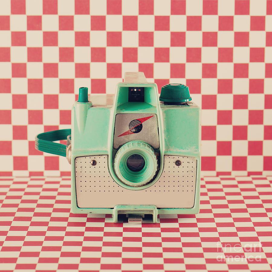 Studio Photograph - Retro Camera by Andrekart Photography