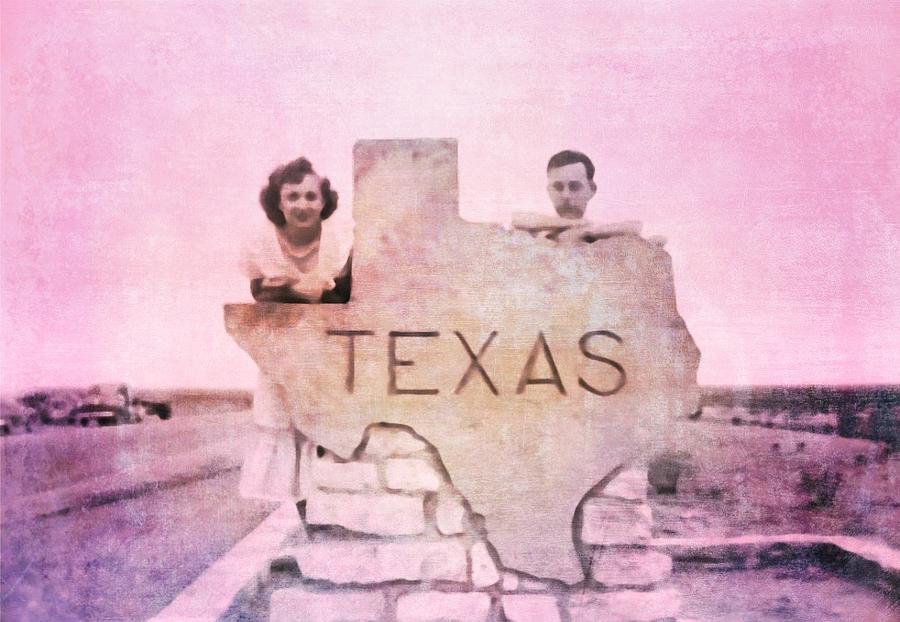 Retro Roadrip Texas by Judy Kennedy