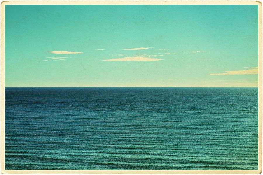 Retro Seascape Postcard Photograph by Farukulay