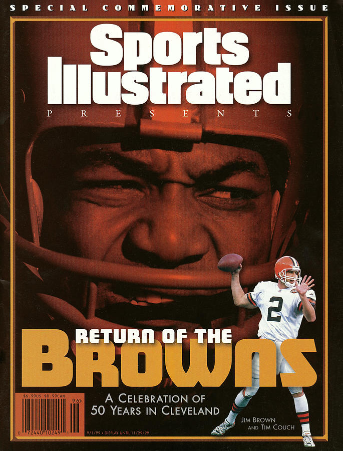 Return Of The Browns A Celebration Of 50 Years In Cleveland Sports Illustrated Cover Photograph by Sports Illustrated