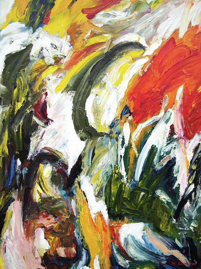Revival to life. Colorful. Fragment. by SurfArtTango Marina Lisovaya