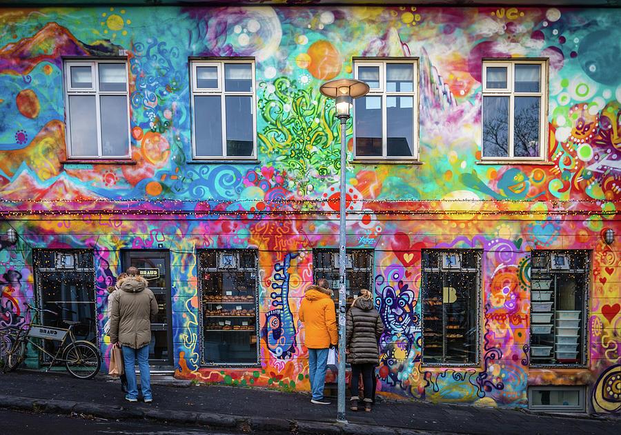 Reykjavik Bakery Photograph