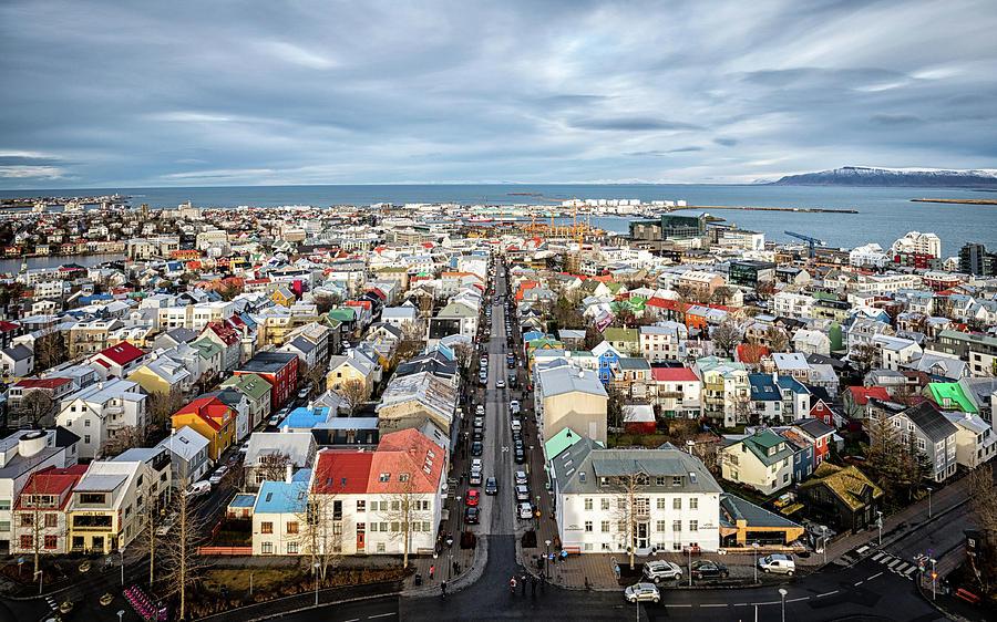Reykjavik City 1 Photograph