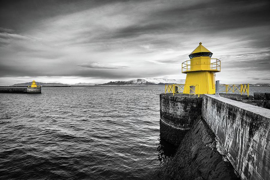 Reykjavik Harbour by Nigel R Bell