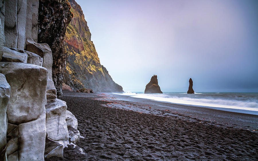Iceland Photograph - Reynisfjara Beach by Framing Places