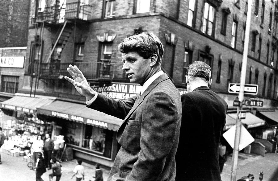 Rfk Campaigns In Harlem Photograph by Fred W. McDarrah