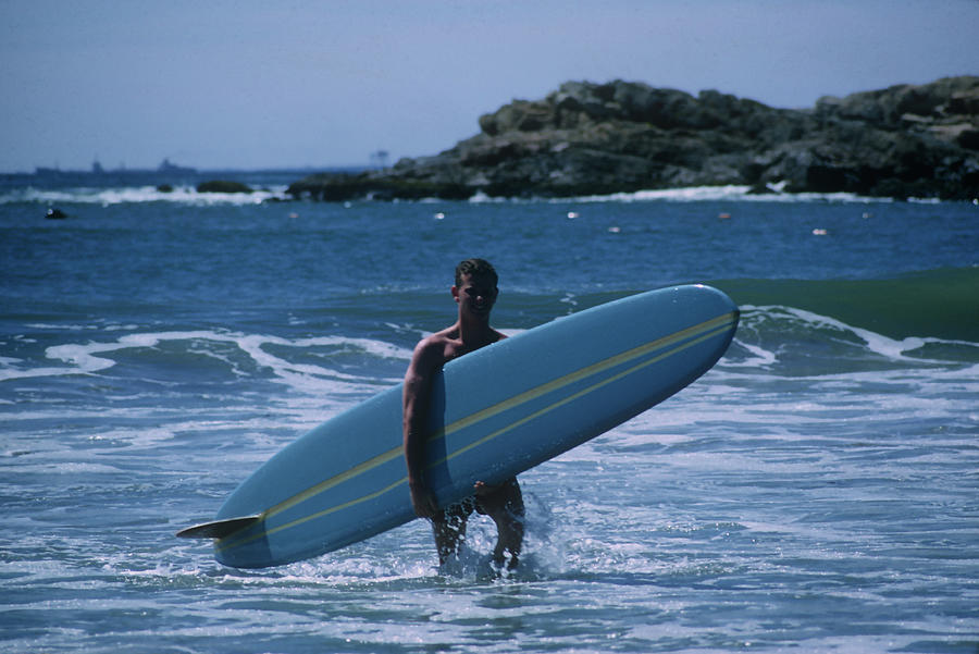 Rhode Island Surfer Photograph by Slim Aarons