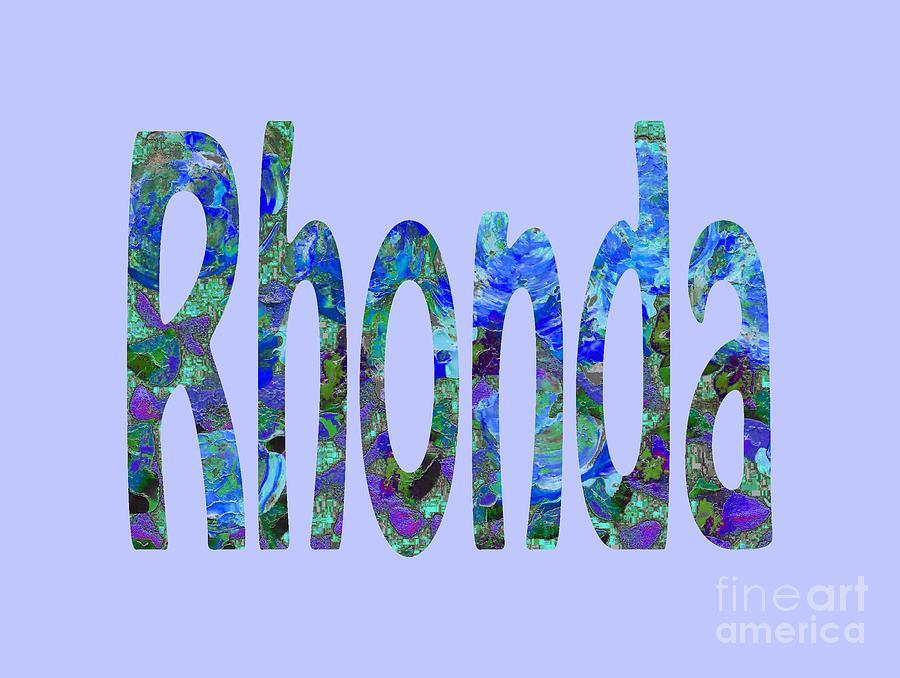 Rhonda by Corinne Carroll