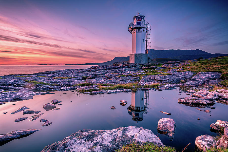 Rhue Lighthouse 2 Photograph