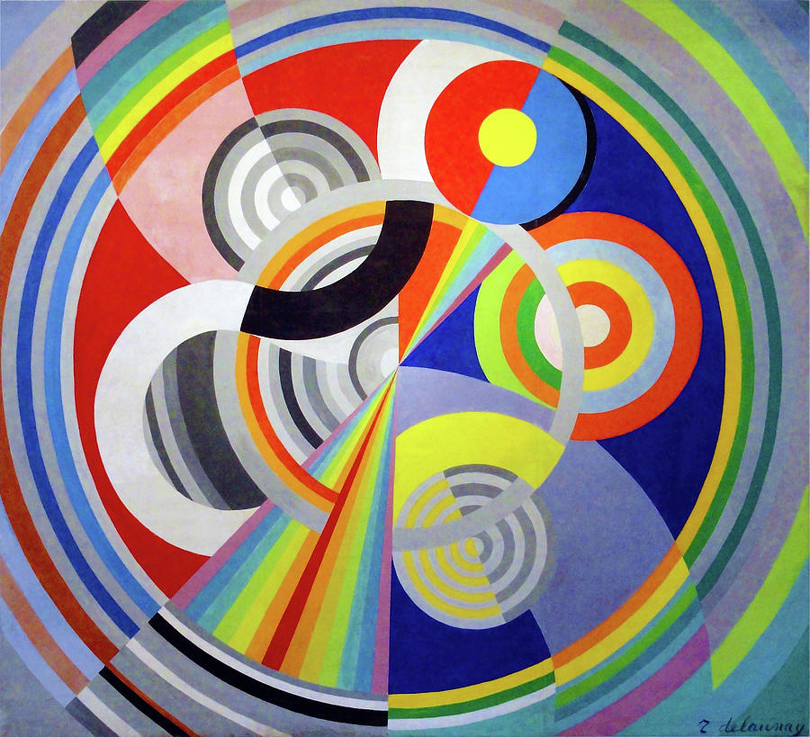 Rhythm n1, decoration for the Salon des Tuileries - Digital Remastered Edition by Robert Delaunay