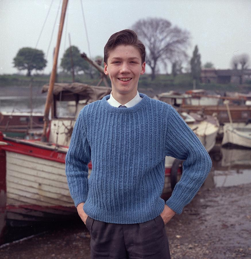 Rib Sweater Photograph by Chaloner Woods