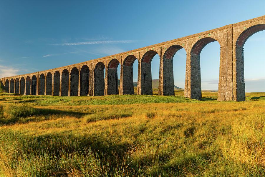 Ribblehead Viaduct Photograph - Ribblehead Viaduct by David Ross