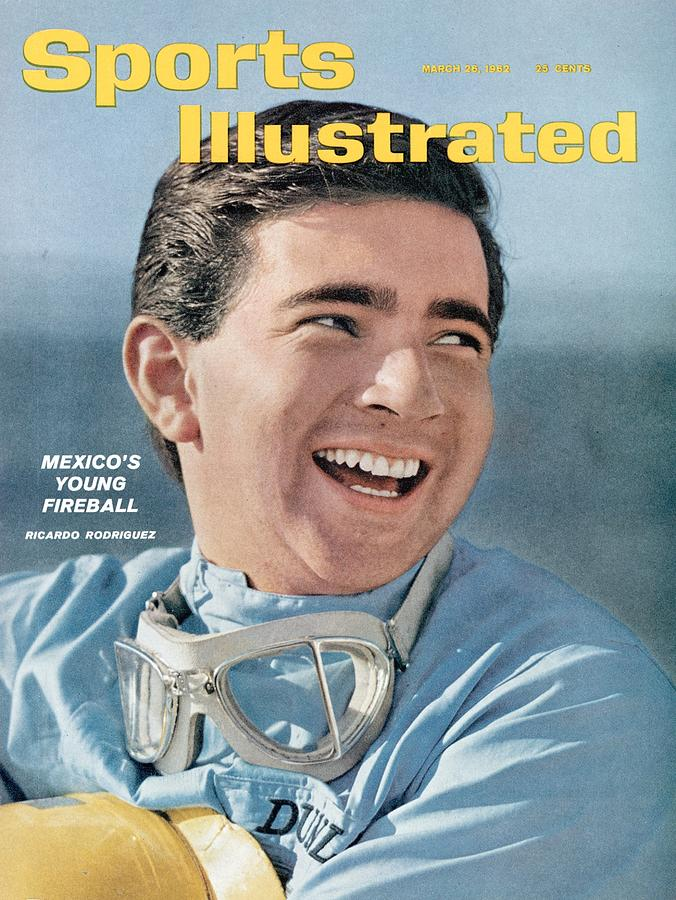 Ricardo Rodriguez, 1962 Continental Three Hour Grand Sports Illustrated Cover Photograph by Sports Illustrated