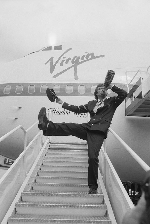 Richard Branson Photograph by Terry Disney