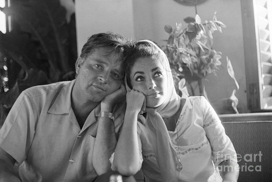 Richard Burton And Elizabeth Taylor Photograph by Bettmann