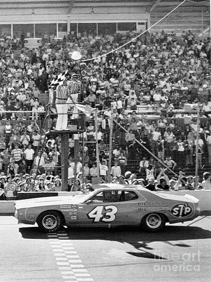 Richard Petty Wins Winston Cup Photograph by Bettmann