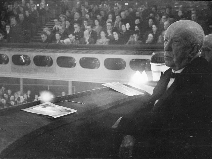 Richard Strauss Photograph by Erich Auerbach
