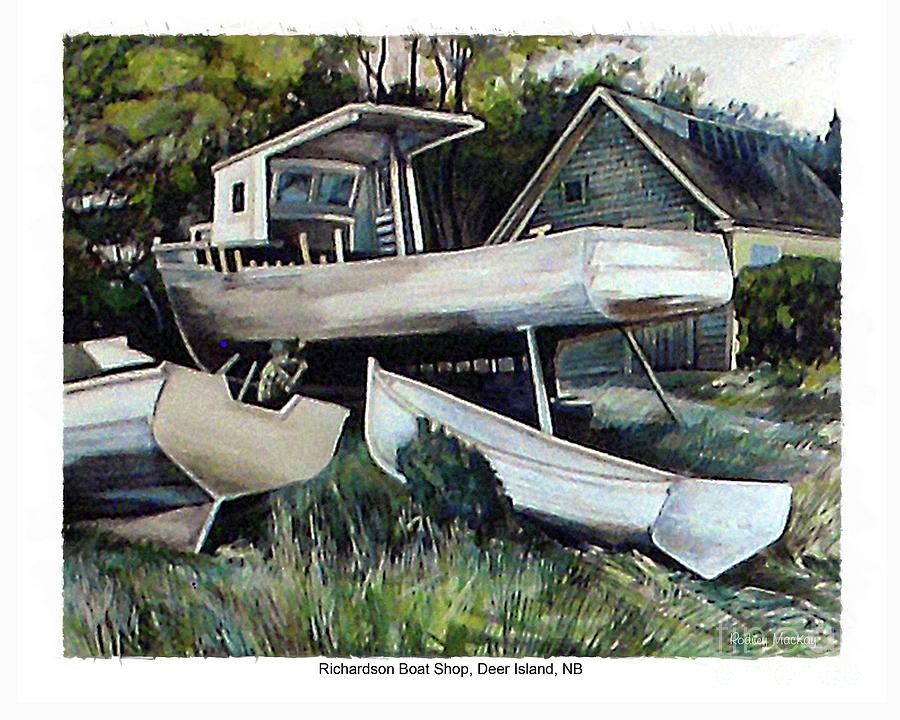 Richardson Boat Shop by Art MacKay
