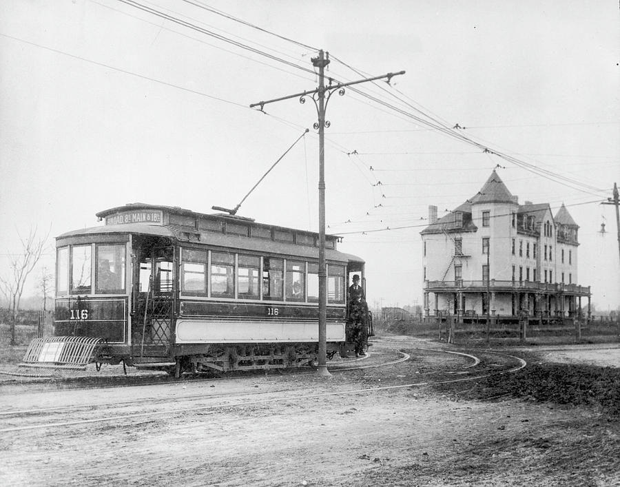 Richmond Tram Photograph by Authenticated News