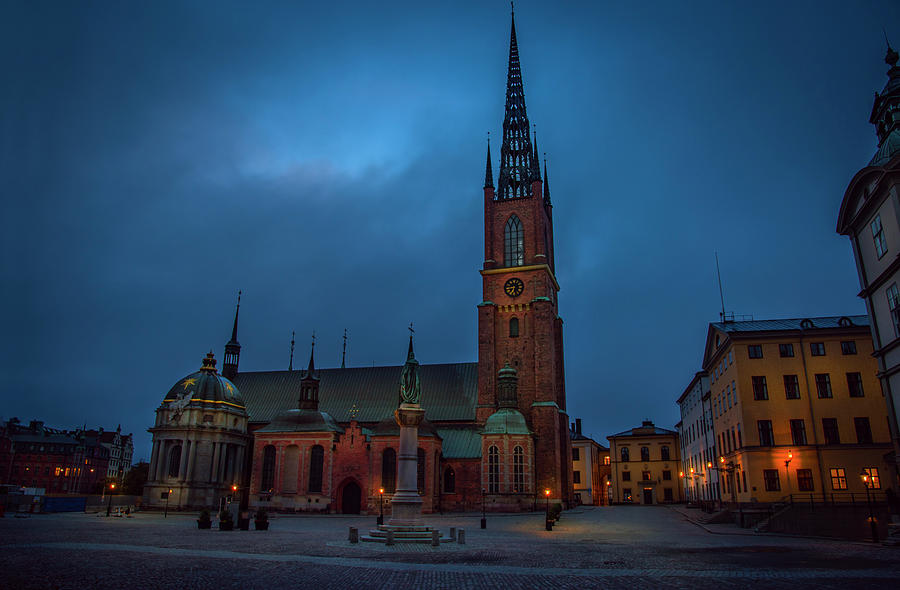 RIddarholmskyrkan by David Morefield