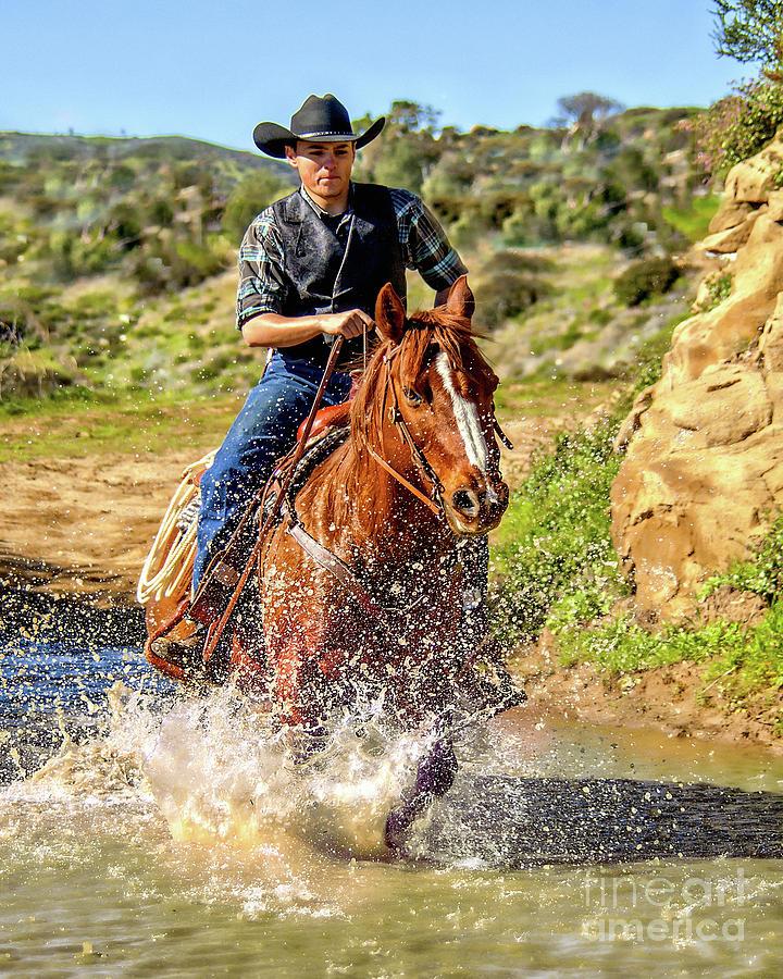 Ride 'Em Cowboy by Jerry Cowart