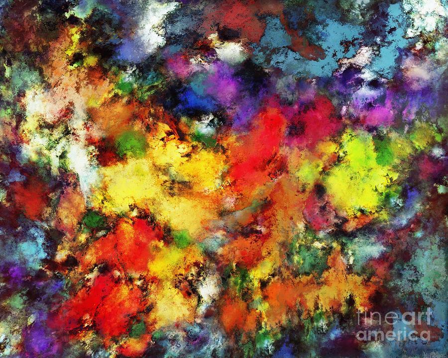 Colours Digital Art - Ridge by Keith Mills