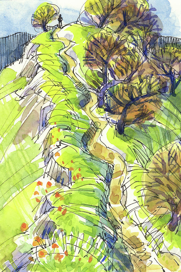 Ridge Trail by Judith Kunzle