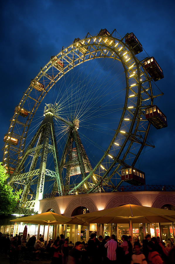 Riesenrad Giant Ferris Wheel At Prater Photograph by Lonely Planet