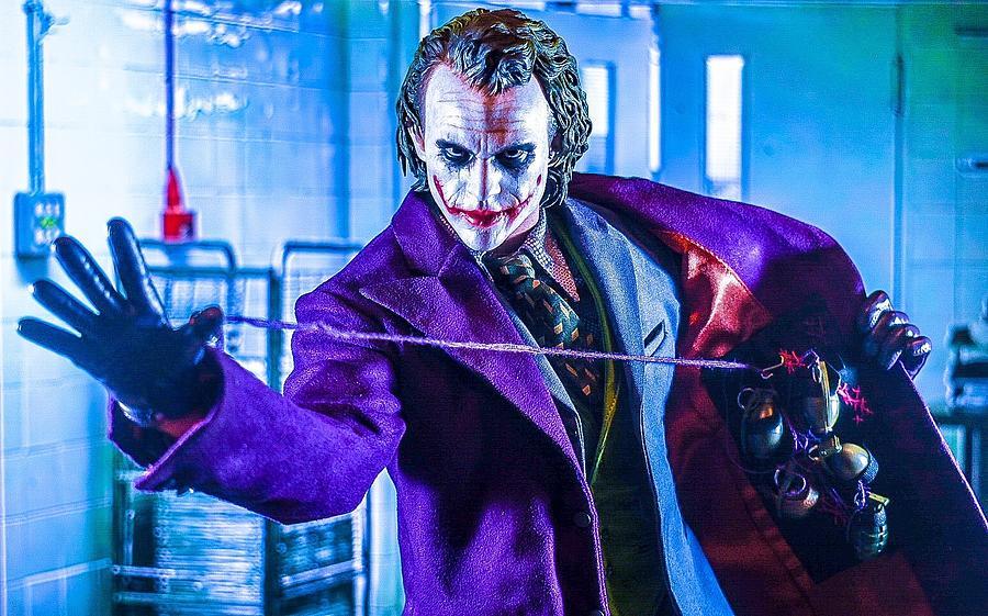 The Joker Digital Art - Rigged To Blow by Jeremy Guerin