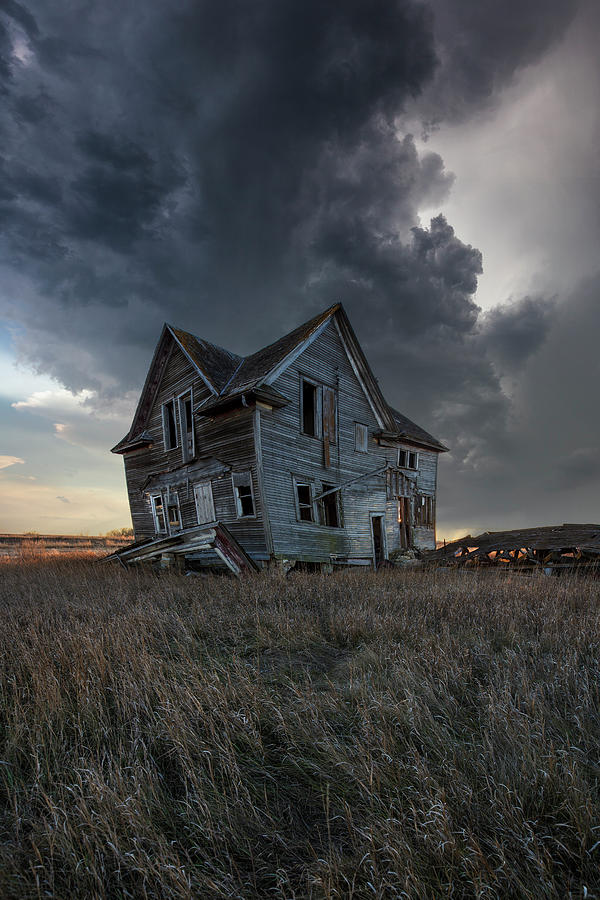 Farmhouse Photograph - Right Where It Belongs by Aaron J Groen