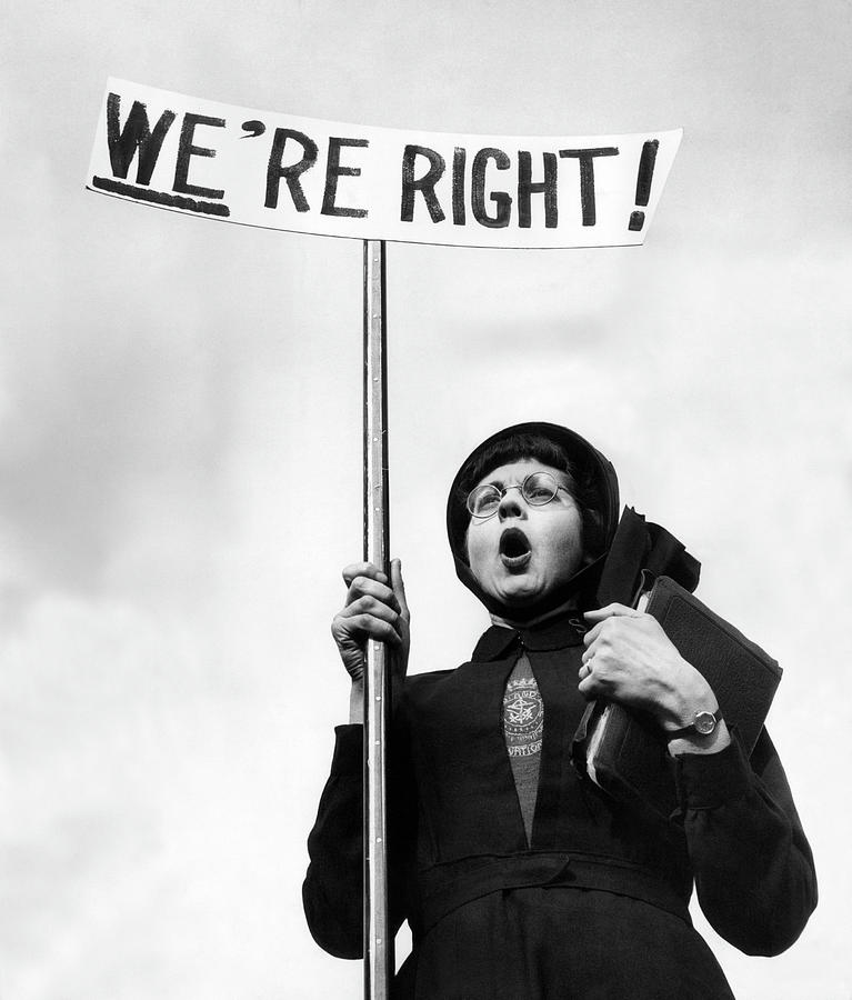 England Photograph - Righteous by John Chillingworth