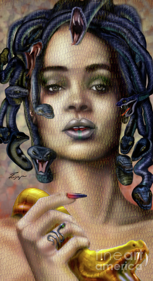 Rihanna is Medusa Series 1 by Reggie Duffie