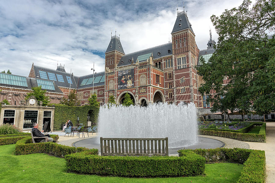 Rijksmuseum Fountain by Jemmy Archer