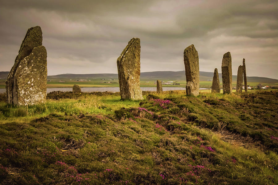 Scotland Photograph - Ring Of Brodgar by Alister Harper