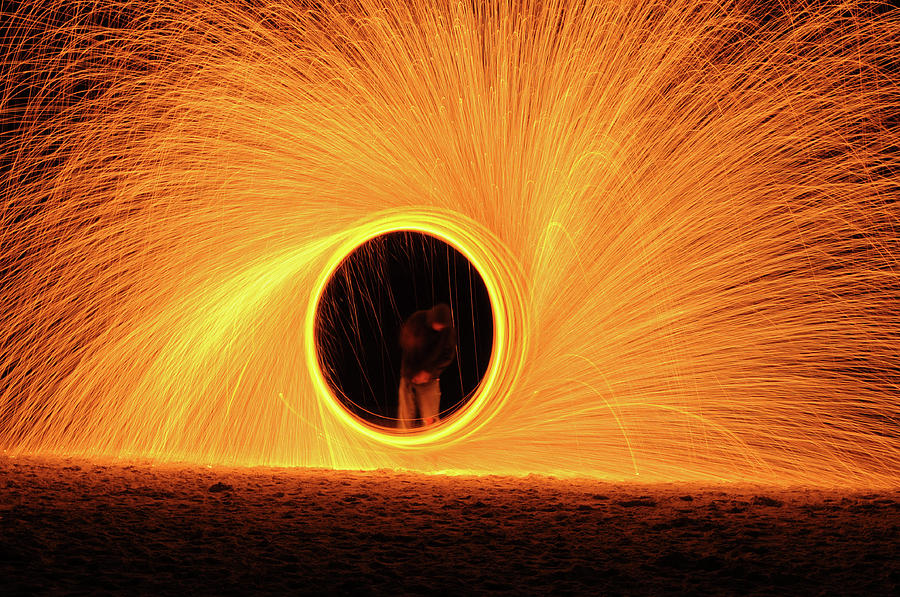 Ring Of Fire Photograph by Aaa