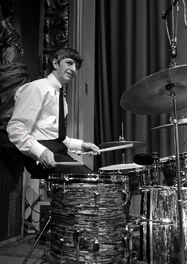 Ringo Starr, Drummer Of The Beatles Pop Photograph by Popperfoto