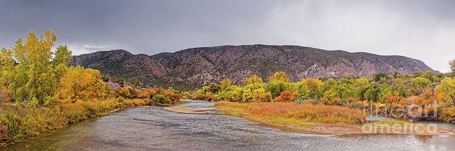 Rio Grande Photograph - Rio Grande Del Norte As It Makes Its Way Through Orilla Verde - Pilar New Mexico by Silvio Ligutti