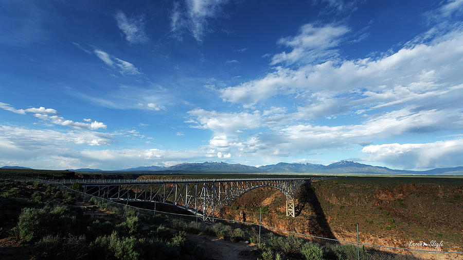 Rio Grande Gorge Bridge by Karen Slagle