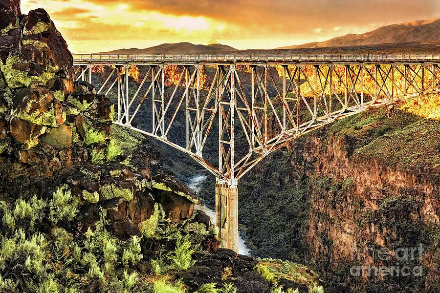 Rio Grande Gorge Bridge by Susan Warren