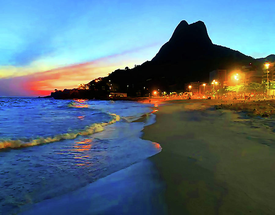 Rio Two BrothersSunset by Roger Bester