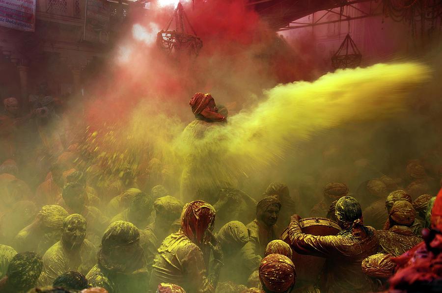 Riot Of Color Photograph by Suman Das
