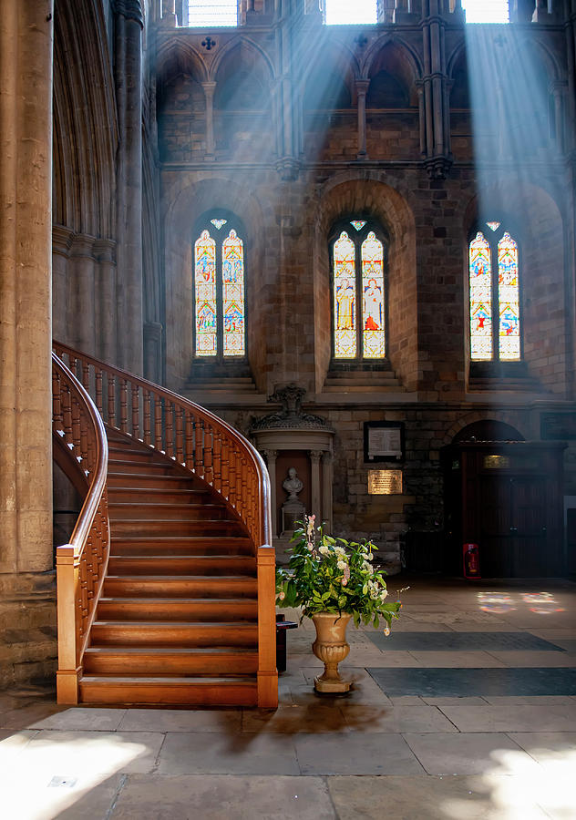 Ripon Cathedral  by Gouzel -