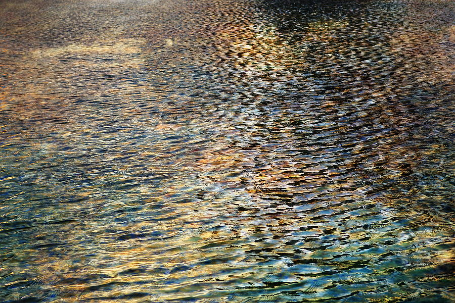 Ripples Light And Shadows by Glenn McCarthy Art and Photography
